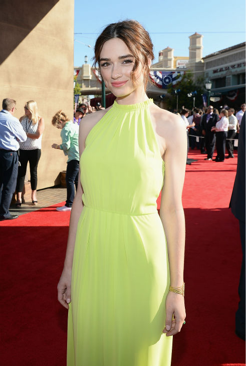 Crystal Reed of MTV&#39;s &#39;Teen Wolf&#39; attends the world premiere of Disney&#47;Jerry Bruckheimer Films&#39; &#39;The Lone Ranger&#39; at Disney California Adventure Park in Disneyland in Anaheim, California on June 22, 2013. <span class=meta>(Michael Buckner &#47; WireImage &#47; Walt Disney Company)</span>