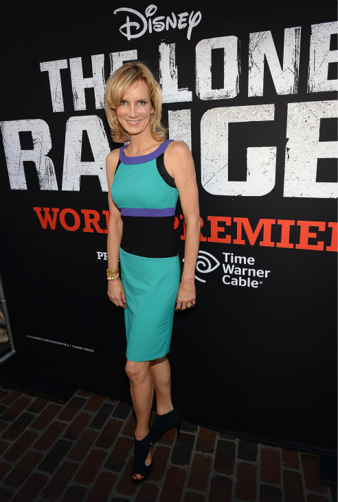 Beth Littleford of the Disney Channel series &#39;Dog with a Blog&#39; attends the world premiere of Disney&#47;Jerry Bruckheimer Films&#39; &#39;The Lone Ranger&#39; at Disney California Adventure Park in Disneyland in Anaheim, California on June 22, 2013. <span class=meta>(Michael Buckner &#47; WireImage &#47; Walt Disney Company)</span>
