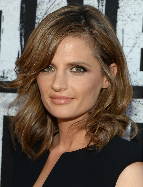 "<div class=""meta ""><span class=""caption-text "">Stana Katic of ABC's 'Castle' attends the world premiere of Disney/Jerry Bruckheimer Films' 'The Lone Ranger' at Disney California Adventure Park in Disneyland in Anaheim, California on June 22, 2013. (Michael Buckner / WireImage / Walt Disney Company)</span></div>"
