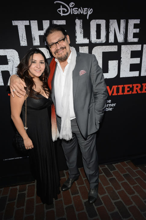 "<div class=""meta image-caption""><div class=""origin-logo origin-image ""><span></span></div><span class=""caption-text"">Cast member Joaquín Cosio attends the world premiere of Disney/Jerry Bruckheimer Films' 'The Lone Ranger' at Disney California Adventure Park in Disneyland in Anaheim, California on June 22, 2013. (Michael Buckner / WireImage / Walt Disney Company)</span></div>"