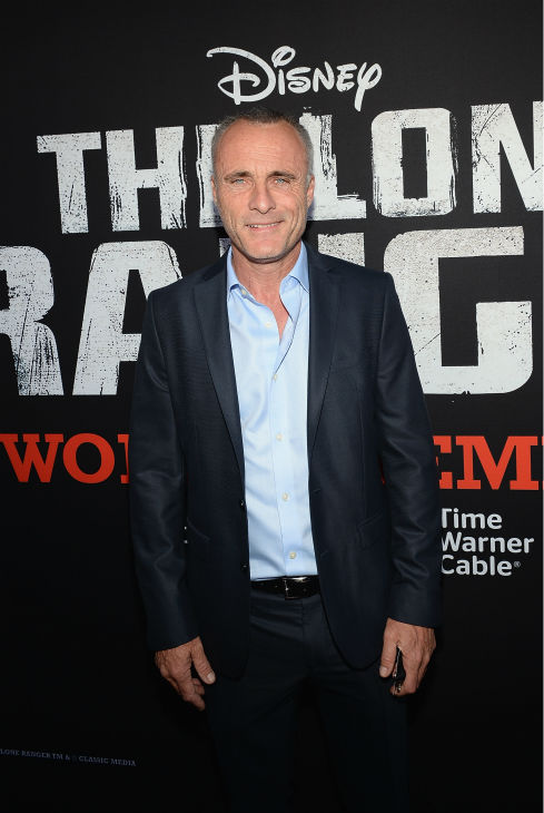 "<div class=""meta image-caption""><div class=""origin-logo origin-image ""><span></span></div><span class=""caption-text"">Cast member Timothy V. Murphy attends the world premiere of Disney/Jerry Bruckheimer Films' 'The Lone Ranger' at Disney California Adventure Park in Disneyland in Anaheim, California on June 22, 2013. (Michael Buckner / WireImage / Walt Disney Company)</span></div>"