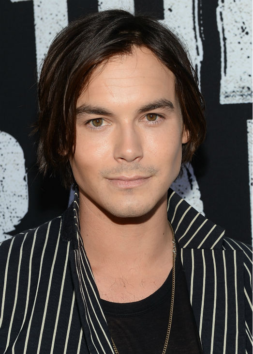 "<div class=""meta image-caption""><div class=""origin-logo origin-image ""><span></span></div><span class=""caption-text"">Tyler Blackburn of the ABC Family series 'Pretty Little Liars' and spinoff 'Ravenswood' attends the world premiere of Disney/Jerry Bruckheimer Films' 'The Lone Ranger' at Disney California Adventure Park in Disneyland in Anaheim, California on June 22, 2013. (Michael Buckner / WireImage / Walt Disney Company)</span></div>"