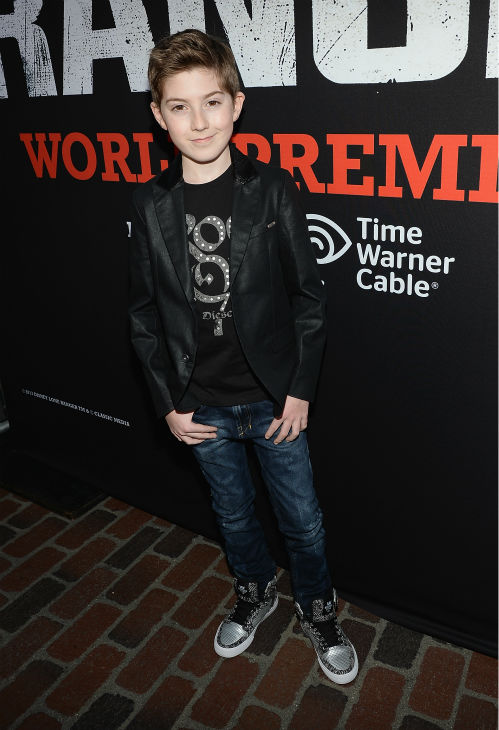 "<div class=""meta ""><span class=""caption-text "">Cast member Mason Cook, who also appears on ABC's 'The Middle,' attends the world premiere of Disney/Jerry Bruckheimer Films' 'The Lone Ranger' at Disney California Adventure Park in Disneyland in Anaheim, California on June 22, 2013. (Christopher Polk / WireImage / Walt Disney Company)</span></div>"