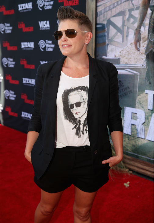 Singer Natalie Maines attends the world premiere of Disney&#47;Jerry Bruckheimer Films&#39; &#39;The Lone Ranger&#39; at Disney California Adventure Park in Disneyland in Anaheim, California on June 22, 2013. <span class=meta>(Christopher Polk &#47; WireImage &#47; Walt Disney Company)</span>