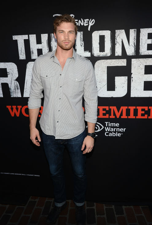 "<div class=""meta ""><span class=""caption-text "">Derek Theler of the ABC Family series 'Baby Daddy' attends the world premiere of Disney/Jerry Bruckheimer Films' 'The Lone Ranger' at Disney California Adventure Park in Disneyland in Anaheim, California on June 22, 2013. (Michael Buckner / WireImage / Walt Disney Company)</span></div>"