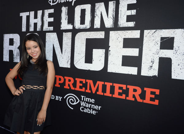 Cierra Ramirez of the ABC Family series &#39;The Fosters&#39; attends the world premiere of Disney&#47;Jerry Bruckheimer Films&#39; &#39;The Lone Ranger&#39; at Disney California Adventure Park in Disneyland in Anaheim, California on June 22, 2013. <span class=meta>(Michael Buckner &#47; WireImage &#47; Walt Disney Company)</span>