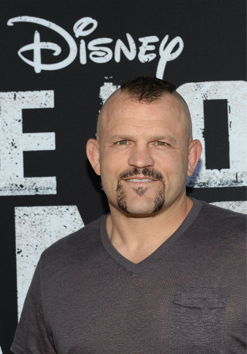 "<div class=""meta ""><span class=""caption-text "">UFC fighter Chuck Liddell attends the world premiere of Disney/Jerry Bruckheimer Films' 'The Lone Ranger' at Disney California Adventure Park in Disneyland in Anaheim, California on June 22, 2013. (Michael Buckner / WireImage / Walt Disney Company)</span></div>"