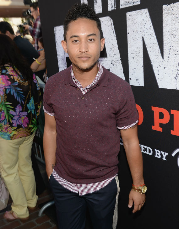 "<div class=""meta ""><span class=""caption-text "">Tahj Mowry of the ABC Family series 'Baby Daddy' attends the world premiere of Disney/Jerry Bruckheimer Films' 'The Lone Ranger' at Disney California Adventure Park in Disneyland in Anaheim, California on June 22, 2013. (Michael Buckner / WireImage / Walt Disney Company)</span></div>"