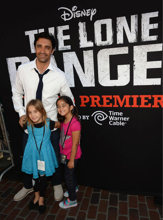 "<div class=""meta ""><span class=""caption-text "">Gilles Marini of the ABC Family series 'Switched At Birth' attends the world premiere of Disney/Jerry Bruckheimer Films' 'The Lone Ranger' at Disney California Adventure Park in Disneyland in Anaheim, California on June 22, 2013. (Michael Buckner / WireImage / Walt Disney Company)</span></div>"