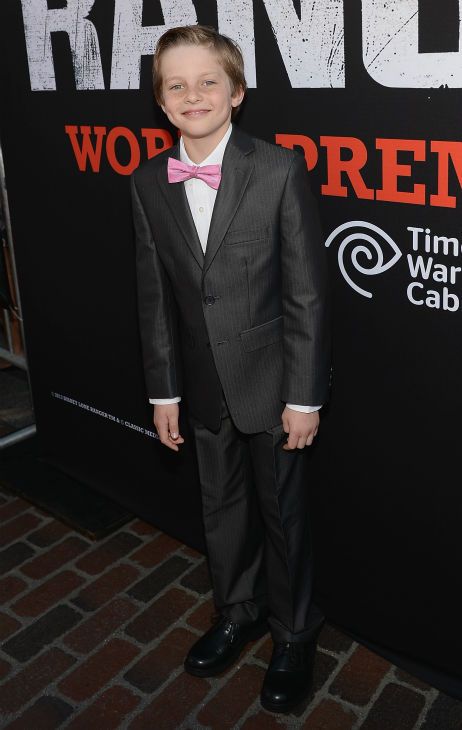 Cast member Bryant Prince attends the world premiere of Disney&#47;Jerry Bruckheimer Films&#39; &#39;The Lone Ranger&#39; at Disney California Adventure Park in Disneyland in Anaheim, California on June 22, 2013. <span class=meta>(Michael Buckner &#47; WireImage &#47; Walt Disney Company)</span>