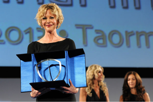 "<div class=""meta image-caption""><div class=""origin-logo origin-image ""><span></span></div><span class=""caption-text"">Meg Ryan, 51, receives the Taormina Arte Award Lancia  at the Taormina Filmfest 2013 in Taormina, Italy on June 20, 2013. (Valerio Pennicino / Getty Images for Lancia)</span></div>"