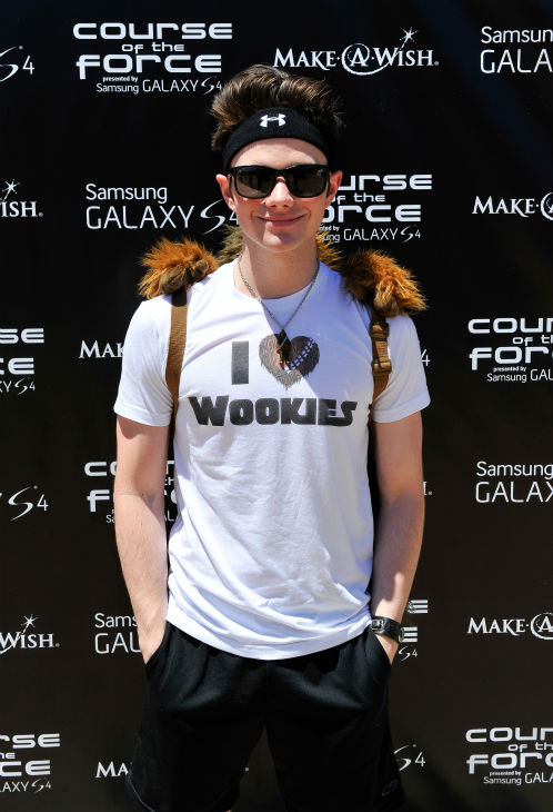 &#39;Glee&#39; actor Chris Colfer attends the Course Of The Force 2013, an &#39;Epic Lightsaber Relay,&#39; benefiting the Make-A-Wish Foundation, at &#39;Star Wars&#39; creator George Lucas&#39; Skywalker Ranch in California on July 9, 2013. <span class=meta>(Steve Jennings &#47; WireImage)</span>
