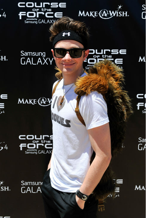 "<div class=""meta image-caption""><div class=""origin-logo origin-image ""><span></span></div><span class=""caption-text"">'Glee' actor Chris Colfer attends the Course Of The Force 2013, an 'Epic Lightsaber Relay,' benefiting the Make-A-Wish Foundation, at 'Star Wars' creator George Lucas' Skywalker Ranch in California on July 9, 2013. (Steve Jennings / WireImage)</span></div>"