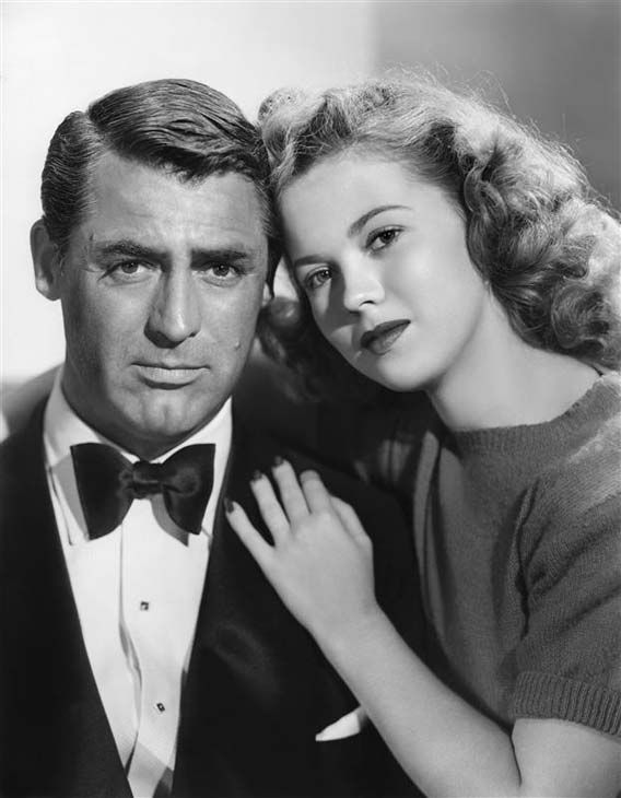 Shirley Temple appears with actor Cary Grant in a photo taken during 1946. The iconic child star died on Feb. 10, 2014 at the age of 85. <span class=meta>(ABACA &#47; startraksphoto.com)</span>