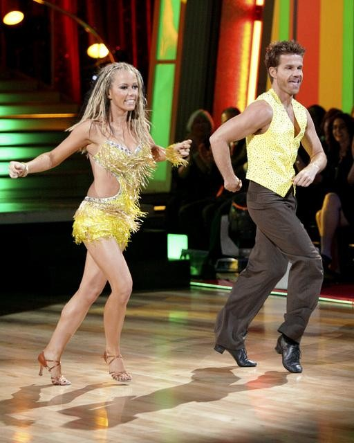 Kendra Wilkinson and Louis Van Amstel entertained the audience with an encore performance on &#39;Dancing With The Stars: The Results Show&#39; on Tuesday, April 26, 2011. <span class=meta>(ABC Photo&#47; Adam Taylor)</span>
