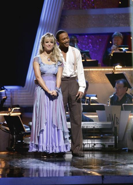 "<div class=""meta ""><span class=""caption-text "">Romeo and his partner Chelsie Hightower await possible elimination. The received 28 out of 30 from the judges for their Waltz on week six of 'Dancing With The Stars' on Monday, April 25, 2011.  (ABC Photo/ Adam Taylor)</span></div>"