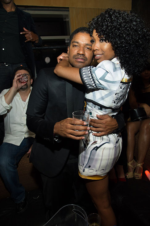"<div class=""meta ""><span class=""caption-text "">Brandy hosts a New Year's Eve party at the LAVO nightclub in Las Vegas on Dec. 31, 2012. The singer attended the event with fiance Ryan Press. (Al Powers / Powers Imagery)</span></div>"