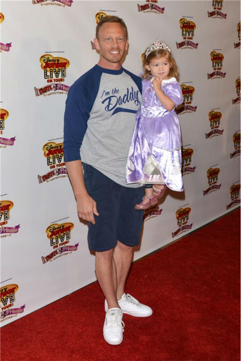"<div class=""meta ""><span class=""caption-text "">'Beverly Hills, 90210' and 'Sharknado' star Ian Ziering and daughter Mia Loren Ziering attend the premiere of the Disney Junior Live On Tour! Pirate and Princess Adventure event in Hollywood, California on Sept. 29, 2013. (Tony DiMaio / Startraksphoto.com)</span></div>"