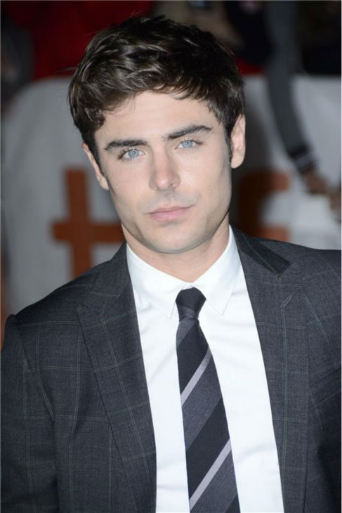 Zac Efron attends the premiere of 'Parkland' at the 2013 Toronto International Film Festival on Sept. 6, 2013.