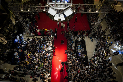 "<div class=""meta ""><span class=""caption-text "">Fans gather at a 'Thor: The Dark World' fan event in Seoul, South Korea on Oct. 14, 2013. (Ho Chang / Walt Disney Studios)</span></div>"