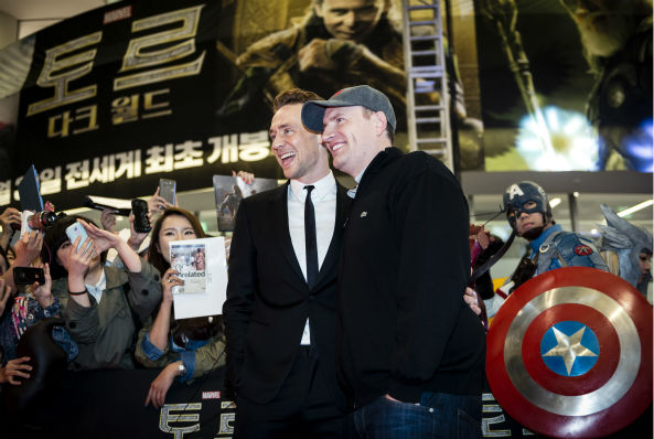 Tom Hiddleston appears at a &#39;Thor: The Dark World&#39; fan event in Seoul, South Korea on Oct. 14, 2013. <span class=meta>(Ho Chang &#47; Walt Disney Studios)</span>