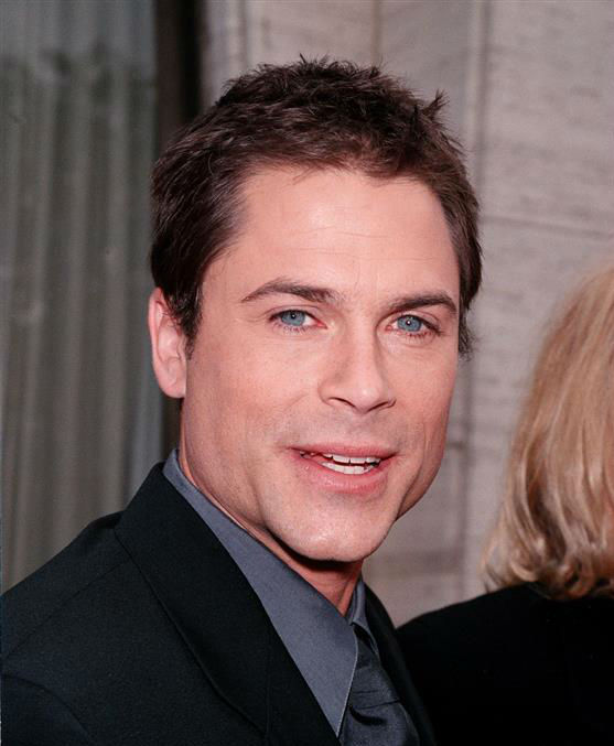 "<div class=""meta ""><span class=""caption-text "">The time Rob Lowe was incredibly good-looking at an NBC Upfronts presentation in New York on May 17, 1999. (Alex Oliveira / Startraksphoto.com)</span></div>"