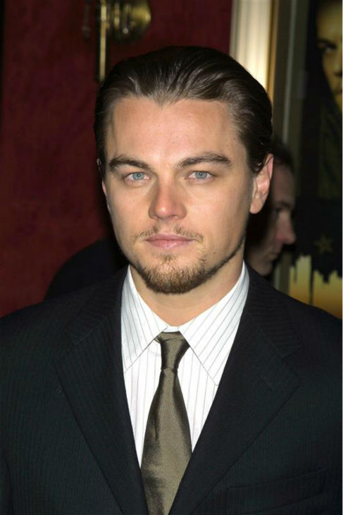 The &#39;Super-VIP-Event&#39; stare: Leonardo DiCaprio appears at the Tribeca Grill in New York to attend a special event welcoming Nelson Mandela on May 12, 2005. <span class=meta>(Allocca Ferreira &#47; Startraksphoto.com)</span>
