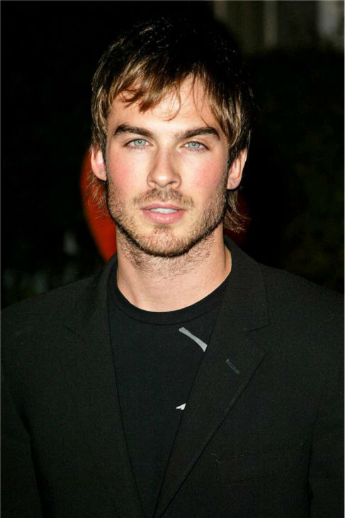 The &#39;Blond-Boone&#39; stare: Iam Somerhalder, who stars on ABC&#39;s &#39;LOST,&#39; appears at a network event on the Universal Studios Backlot in Universal City, California on Jan. 23, 2005.  <span class=meta>(Marty Hause &#47; Startraksphoto.com)</span>