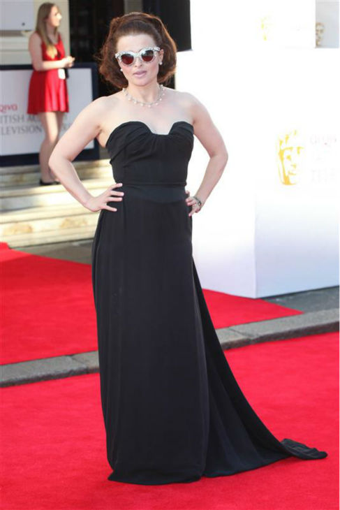 Helena Bonham Carter appears at the 2014 British Academy Television Awards in London on May 18, 2014. <span class=meta>(Future Image &#47; Startraksphoto.com)</span>