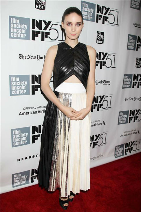 Rooney Mara attends the closing night gala presentation of 'Her. A Spike Jonze Love Story' at the 2013 New York Film Festival on Oct. 12, 2013.