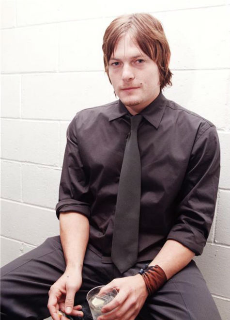 The &#39;Care-To-Join-Me-For-A-Drink&#39; stare: Norman Reedus poses at the New York bar Mother after the opening of his latest film, Six Ways to Sunday,&#39; on March 1, 1999. <span class=meta>(Startraksphoto.com)</span>