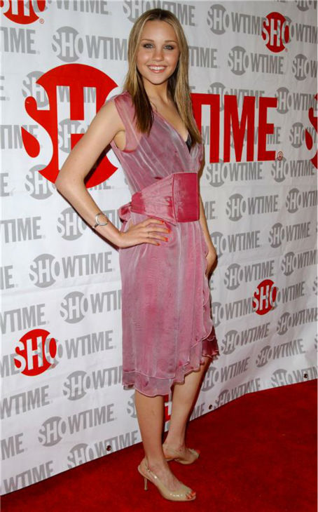 Amanda Bynes attends the premiere of the Showtime Television movie 'Reefer Madness' in Hollywood, Cali