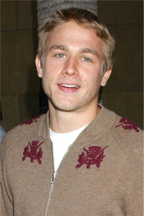 The &#39;Sweaters-Are-Sexy&#39; stare: Charlie Hunnam attends the premiere of &#39;Layer Cake&#39; at the Egyptian Theatre in Hollywood, California on May 2, 2005. <span class=meta>(Albert L. Ortega &#47; Startraksphoto.com)</span>