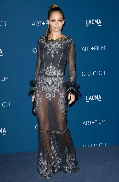 Nicole Richie appears at the LACMA Art and Film Gala, honoring Martin Scorsese And David Hockney, at the Los Angeles County Museum of Art on Nov. 2, 2013. <span class=meta>(Lionel Hahn &#47; AbacaUSA &#47; Startraksphoto.com)</span>