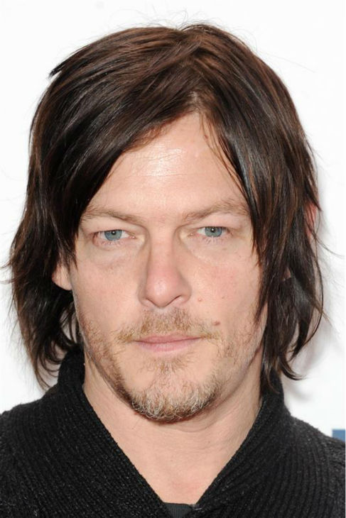 Norman Reedus, who plays Daryl Dixon on AMC&#39;s &#39;The Walking Dead,&#39; walks the red carpet at the 2013 Z100 Jingle Ball at Madison Square Garden in New York on Dec. 13, 2013. <span class=meta>(Bill Davila &#47; Startraksphoto.com)</span>