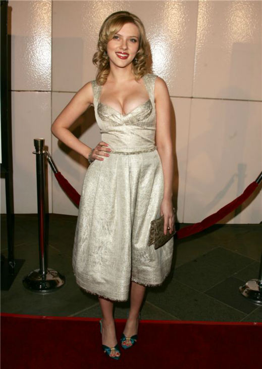 Scarlett Johansson attends the premiere of &#39;Match Point&#39; in Los Angeles on Dec. 8, 2005. <span class=meta>(Jen Lowery &#47; Startraksphoto.com)</span>