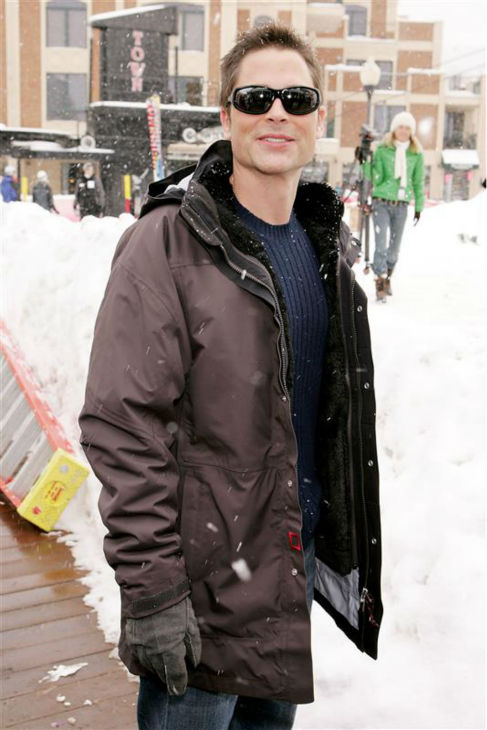 The time Rob Lowe was incredibly good-looking while being all bundled up in freezing Park City, Utah during the 2006 Sundance Film Festival on Jan. 21, 2006. <span class=meta>(Marion Curtis &#47; Startraksphoto.com)</span>