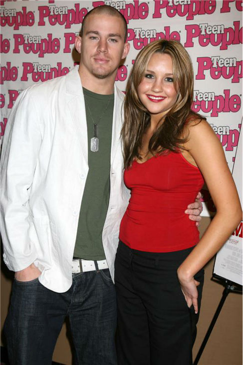 Amanda Bynes and co-star Channing Tatum attend a screening for 'She's The Man' in New York on March 15, 2006.