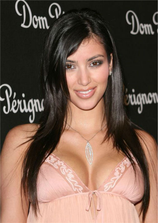 Kim Kardashian attends a launch party for Dom Perignon Rose Vintage 1996 champagne by Karl Lagerfeld in Beverly Hills, California on June 2, 2006. <span class=meta>(Michael Williams &#47; Startraksphoto.com)</span>