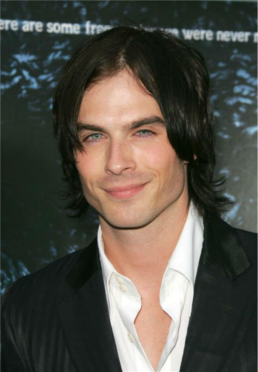The &#39;There&#39;s-Wind-On-My-Chest-And-It-Feels-Nice&#39; stare: Ian Somerhalder appears at the premiere of the horror movie &#39;Pulse&#39; in Hollywood, California on Aug. 10, 2006. <span class=meta>(Jen Lowery &#47; Startraksphoto.com)</span>