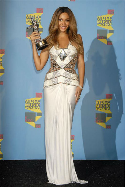 Beyonce appears at the 2006 MTV Video Music Awards at Radio City Music Hall in New York on Aug. 31, 2006.