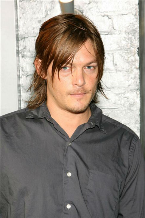 The &#39;Stare-That-Annihilated-All-Other-Stares&#39; stare: Norman Reedus attends a screening for the movie &#39;The Science of Sleep&#39; in New York on Sept. 17, 2006. <span class=meta>(Marion Curtis &#47; Startraksphoto.com)</span>