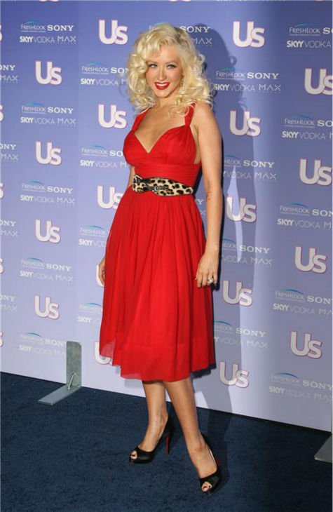 Christina Aguilera attends Us Weekly magazine&#39;s Hot Hollywood Fresh 15 party, honoring Hollywood&#39;s hottest young stars, in Los Angeles on Sept. 21, 2006. <span class=meta>(Jen Lowery &#47; Startraksphoto.com)</span>