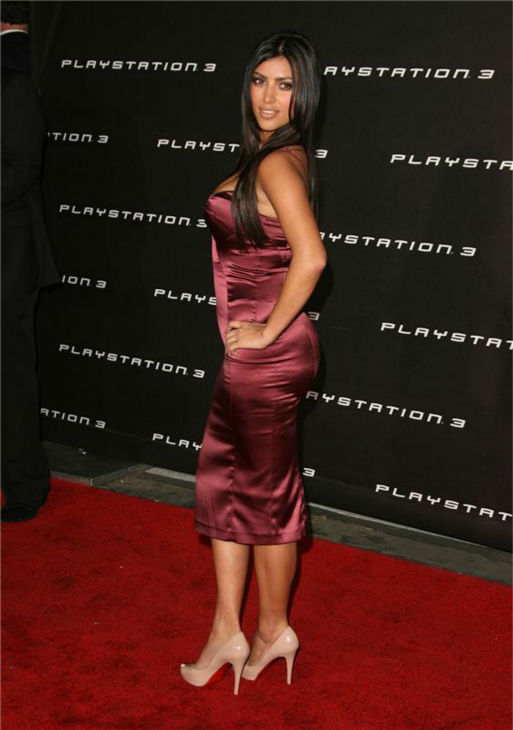 Kim Kardashian appears at Sony Computer Entertainment America&#39;s Playstation 3 event in Beverly Hills, California on Nov. 8, 2006. <span class=meta>(Jen Lowery &#47; Startraksphoto.com)</span>