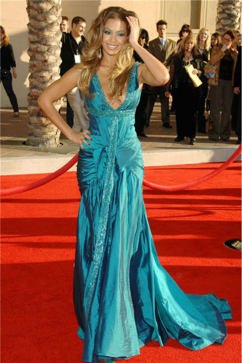 Beyonce appears at the 2006 American Music Awards in Los Angeles on Nov. 22, 2006.