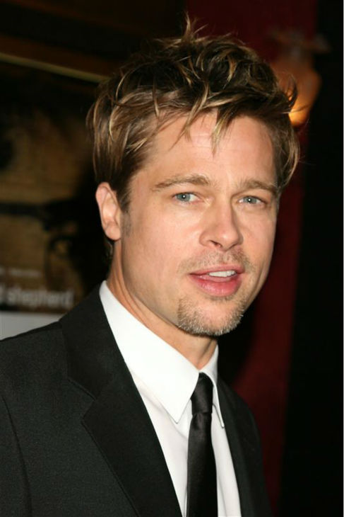 Brad Pitt attends the premiere of &#39;The Good Shepherd&#39; in New York on Dec. 11, 2006. <span class=meta>(Alex Oliveira &#47; Startraksphoto.com)</span>