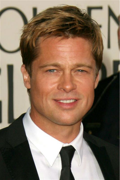 Brad Pitt appears at the 2007 Golden Globe Awards in Beverly Hills, California on Jan. 15, 2007. <span class=meta>(Jen Lowery &#47; Startraksphoto.com)</span>