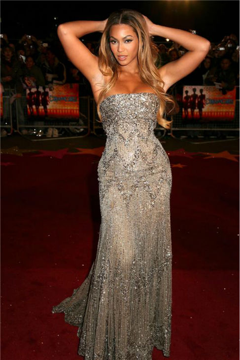 Beyonce attends the premiere of 'Dreamgirls' in London on Jan. 21, 2007.