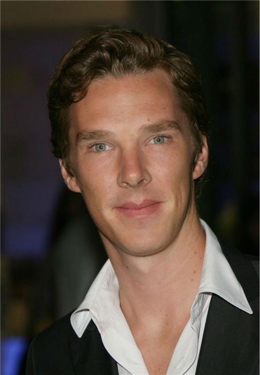 Benedict Cumberbatch attends the premiere of 'Starter for 10' in Hollywood, California on Feb. 6, 2007.