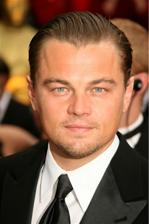 The &#39;Heck-Yeah-I&#39;m-At-The-Oscars&#39; stare: Leonardo DiCaprio walks the red carpet at the 2007 Oscars in Los Angeles on Feb. 25, 2007. <span class=meta>(Jen Lowery &#47; Startraksphoto.com)</span>